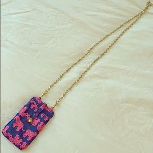 Lilly Pulitzer Phone Carrier/Wallet